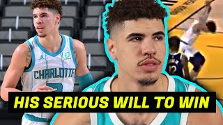 LAMELO SHOWED HOW COMPETITVE HE IS AGAINST STEPH CURRY (HE WILL BE GREAT)