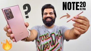 Samsung Galaxy Note 20 Ultra First Look - The Super PowerPhone🔥🔥🔥