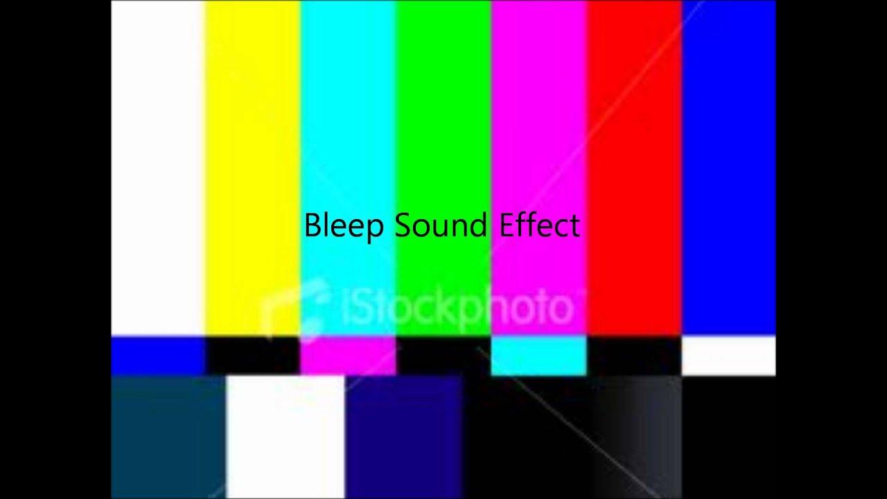 swearing beep sound effect
