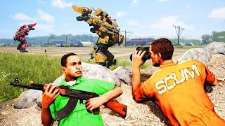 How To Sneak Into The Airport! - Scum #2
