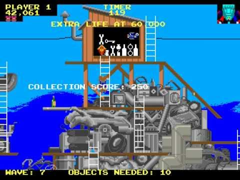 Arcade Game: Peter Pack-Rat (1984 Atari)