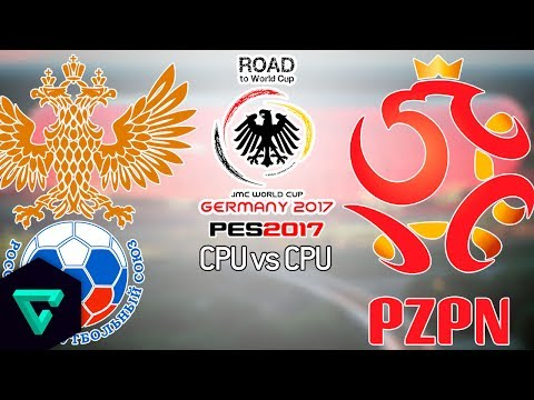 Russia vs. Poland | 2nd Leg | UEFA | Road To World Cup Germany 2017 | PES 2017