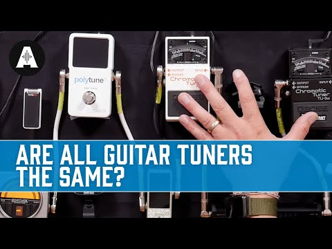 Are All Guitar Tuners The Same?