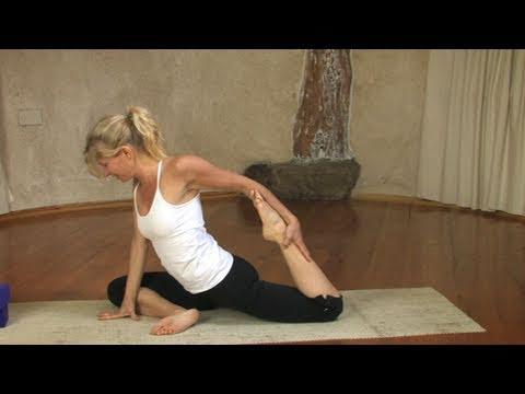 pigeon pose / eka pada rajakapotasana yoga pose  youtube