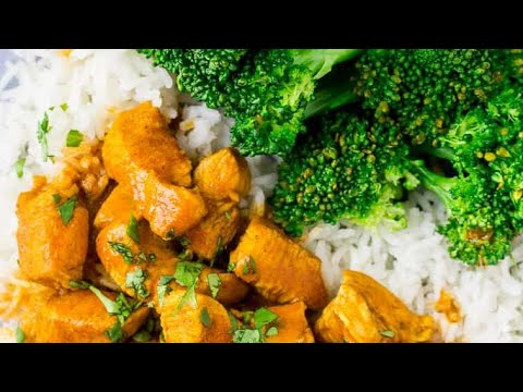 Chicken Curry With Broccoli And Potatoes