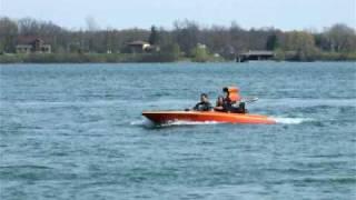 V-drive Boat Flat Bottom