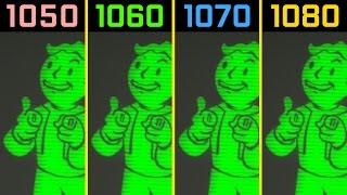 Fallout 4 GTX 1050 Ti vs. GTX 1060 vs. GTX 1070 vs. GTX 1080