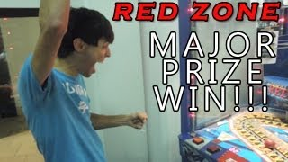 Major Prize WIN!!! - Red Zone Arcade Game