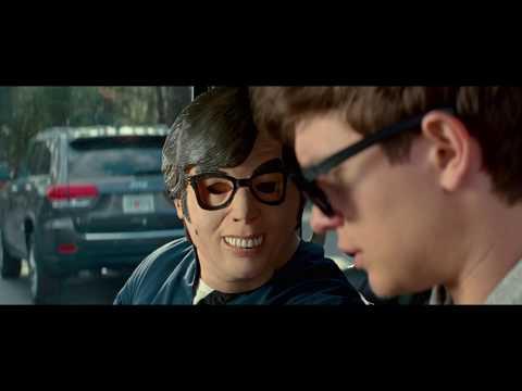 Baby Driver - Second Car Chasing Scene - Jamie Foxx
