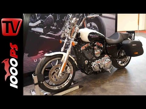 Produktvorstellung   Harley Davidson SuperLow 1200T