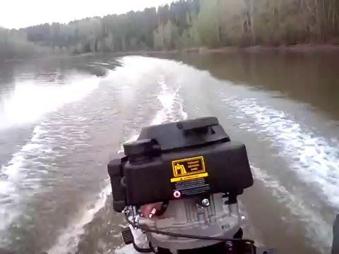 Лодочный мотор Гибрид ветерок + чемпион