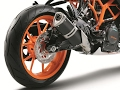 2017 KTM RC 390 - Side Exhaust Sound - Stock Exhaust Note Video.