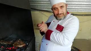 Мясо на кости от Георга. стейк тамагавк