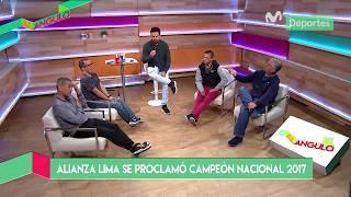 Al Ángulo: Daniel Peredo y Diego Rebagliati debaten por el aporte de Gabriel Leyes en Alianza Lima