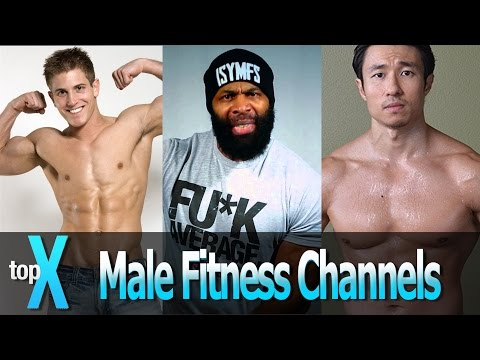 Top 10 YouTube Men's Fitness Channels TopX Ep.19