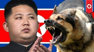 Repeat youtube video Kim Jong Un orders uncle to be fed to dogs!