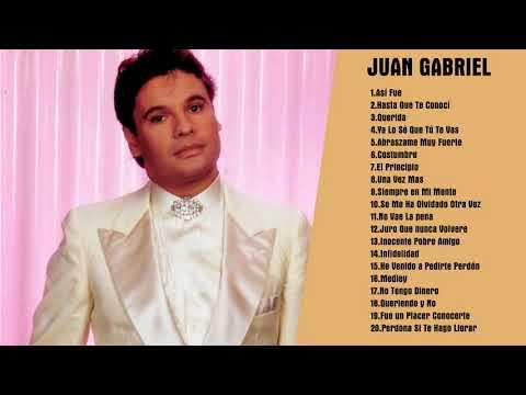 Juan Gabriel Baladas Romanticas Completas - Juan Gabriel Exitos Mix