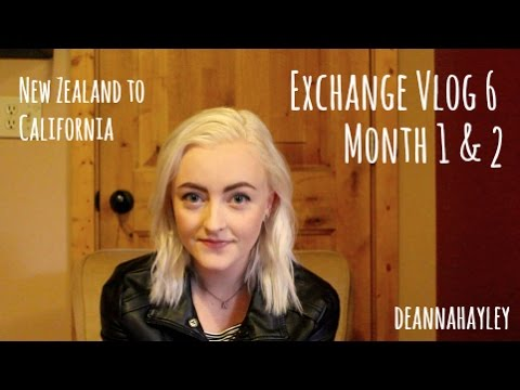 USA Exchange Vlog 6 - Month 1 & 2 ♡ New Zealand to California