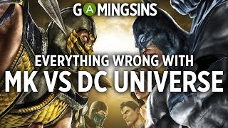 Download Video Everything Wrong With Mortal Kombat vs DC Universe In 7 Minutes Or Less | GamingSins MP3 3GP MP4