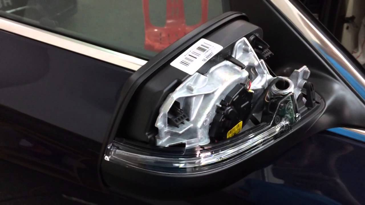 Bmw F10 Lci Side Mirror Retrofit With Led Signal Lights 3