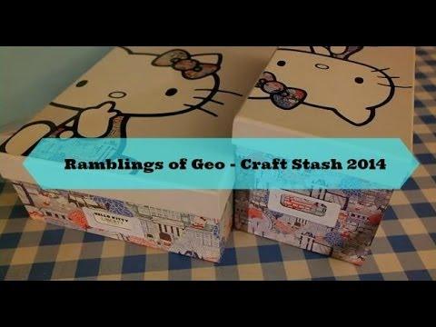Craft Stash / Craft room tour