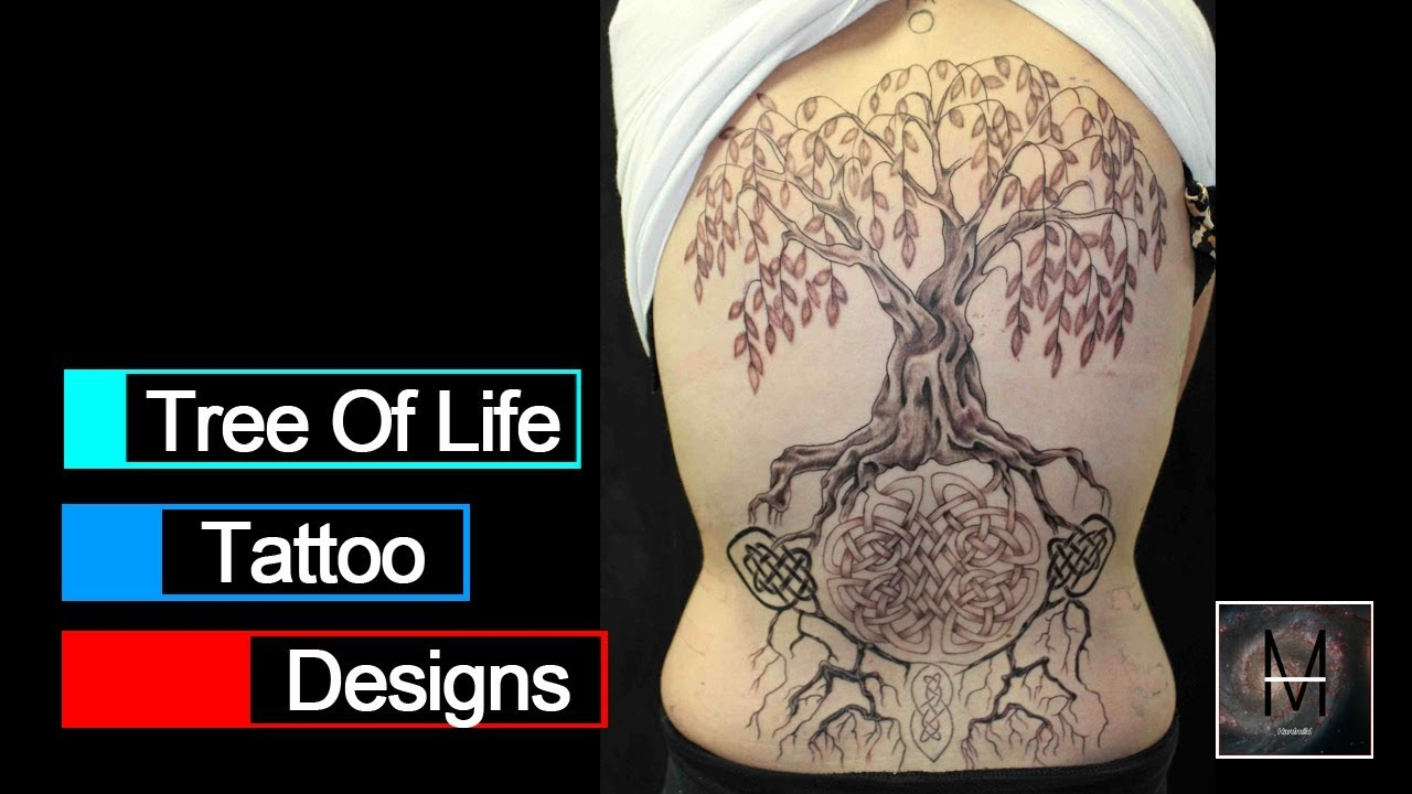 Tree Of Life Tattoo Designs Youtube