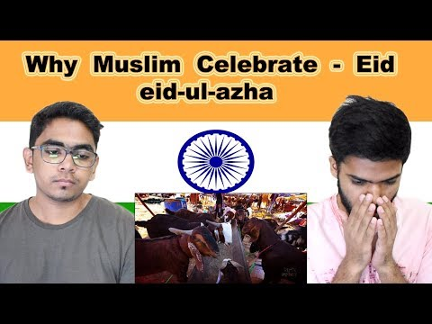 Indian reaction on Why Muslim Celebrate EID | eid-ul-azha | Swaggy d