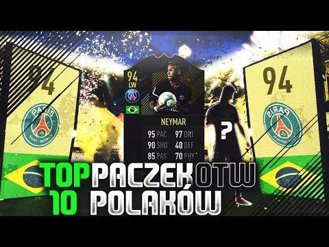 FIFA 18 | TOP 10 PACZEK OTW POLAKÓW!