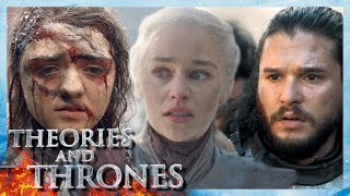 Game of Thrones Season 8 Ep 5 After Show: Who Will Kill Dany: Arya or Jon? | Theories and Thrones