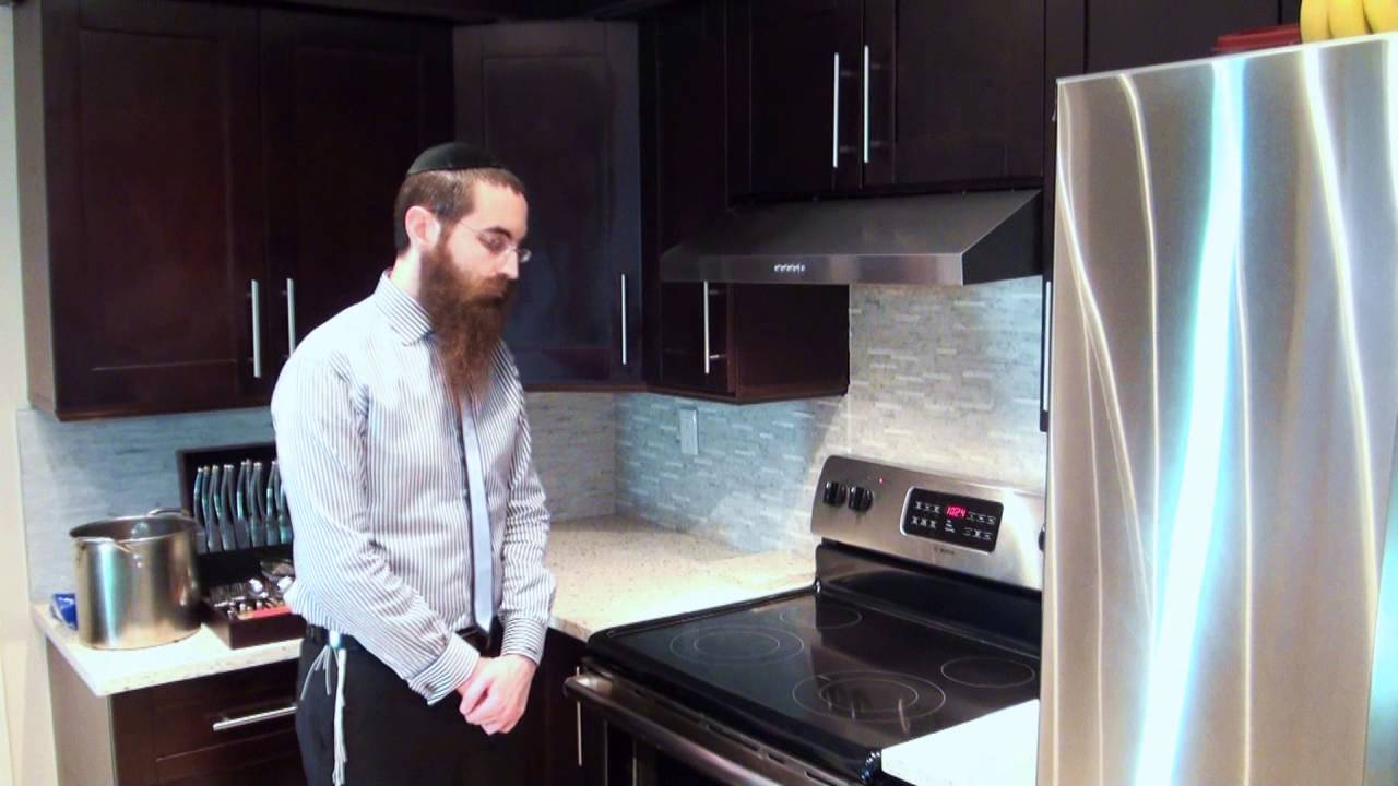 How to Kosher Your Kitchen for Pesach