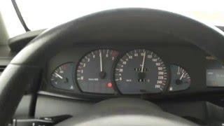 Opel Omega 3.2 V6 - acceleration 0-180 km/h