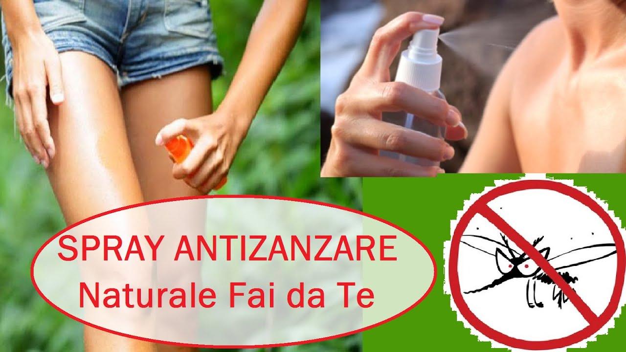 Spray antizanzare naturale fai da te facile youtube - Antizanzare casa ...