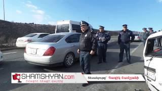 Երևան Սևան ճանապարհին բախվել են Niva ն ու մարդատար Mercedes Sprinter ը