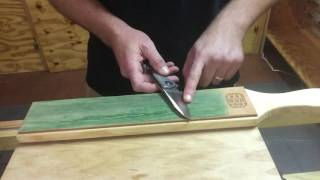 Knife stropping tutorial from USA Made Blade