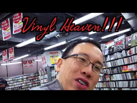 Most Fun & Biggest Record Store Japan, RECOFAN!  Japan Record Shopping BEST 1-day trail, Pt2!