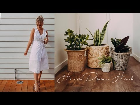HOME DECOR HAUL | Kmart | Warehouse | Thrift Stores