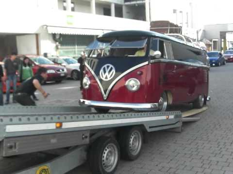 vw t1 bulli split screen porsche 911 elmar gostner 2 youtube. Black Bedroom Furniture Sets. Home Design Ideas
