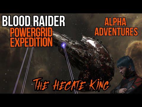 Eve Online Blood Raider Power Grid Escalation (Alpha Adventures Full Alpha Mode)