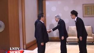Lao NEWS on LNTV: Japan, Laos agree to upgrade bilateral ties.10/3/2015
