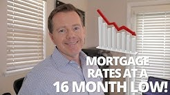 Mortgage Rates Hit a 16 Month Low (May 2019)