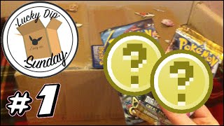 Lucky Dip Sunday Episode #1 | Opening 2 MYSTERY Pokemon Booster Packs!