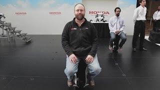 Honda Uni-Cub & Walk-Assist Personal Mobility Solutions | SAE 2015