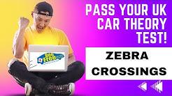 UK Driving Theory Test 2019│Zebra crossings
