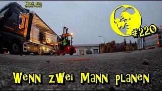 Wenn zwei Mann planen / Truck diary / ExpoTrans / Lkw Doku #220