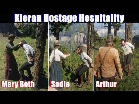 RDR2 Kieran Hostage Hospitality - Red Dead Redemption 2 PS4 Pro thumbnail