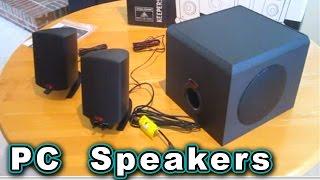 Best PC Speakers u can buy!!! Klipsch 200 Watt ProMedia 2.1 Gaming Computer Speaker Logitech
