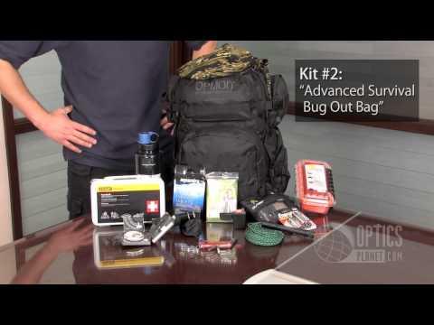 Disaster Preparation Bug Out Packs At OpticsPlanet.com