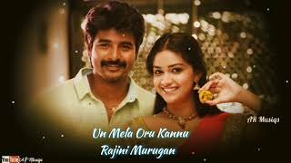 💕Un Mela Oru Kannu❣️💞 song WhatsApp status cut song from Rajini Murugan Tamil Movie