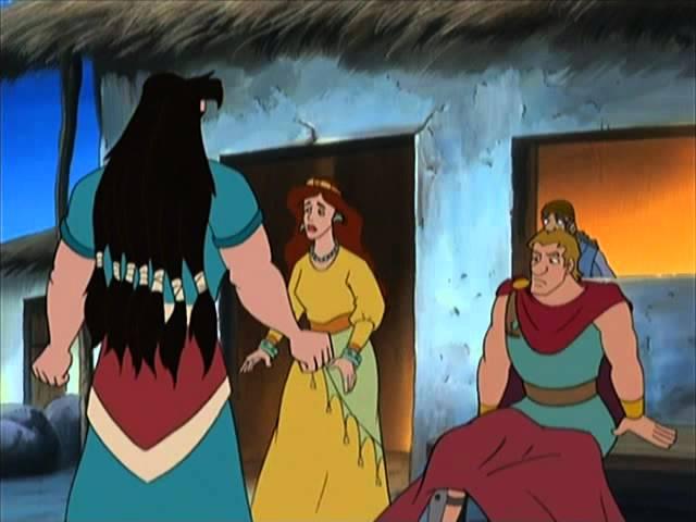Samson et Dalila - Bible en dessins animés