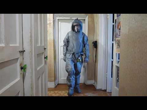 Russian Hazmat Suit KIH 4M (КИХ 4М) # 03